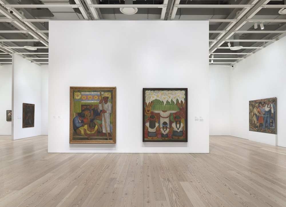 Installation view of Vida Americana- Mexican Muralists Remake American Art, 1925–1945 (Whitney Museum of American Art, New York, February 17–May 17, 2020).jpg