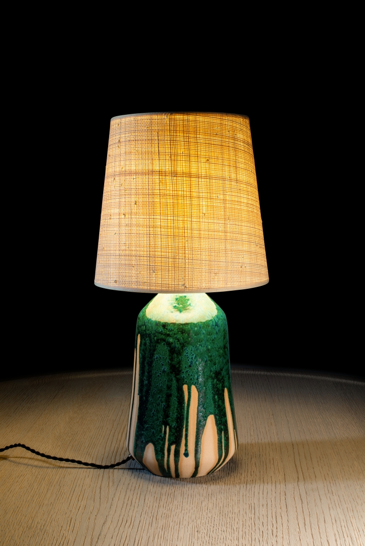 Charles Zana Ceramic Lamp -  The Invisble Collection - Charity Sale Lot.jpg